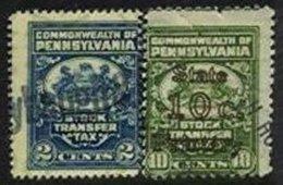 UNITED STATES, Pennsylvania, Used, F/VF - Revenues