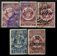 CHILE, Consulars, Used, F/VF - Cile