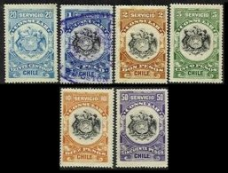 CHILE, Consulars, ** MNH, F/VF - Cile