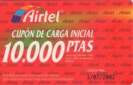 TARJETA TELEFONICA DE ESPAÑA, (PREPAGO) 222. - Espagne