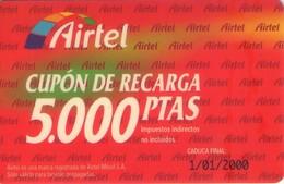 TARJETA TELEFONICA DE ESPAÑA, PREFIJO 907 (PREPAGO) 221. - Airtel