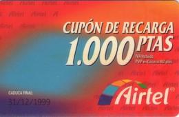 TARJETA TELEFONICA DE ESPAÑA, PREFIJO 907 (PREPAGO) 219. - Airtel