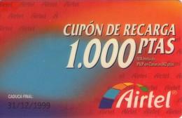 TARJETA TELEFONICA DE ESPAÑA, PREFIJO 607 (PREPAGO) 218. - Airtel