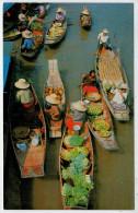 C.P.  PICCOLA    BANGKOK     FLOATING  MARKET  (WAT-SAI)    2 SCAN  (NUOVA) - Tailandia