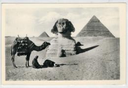 C.P.  PICCOLA     EGITTO  U.A.R.   PIRAMIDE  E  SFINGE      2 SCAN  (NUOVA) - Cairo