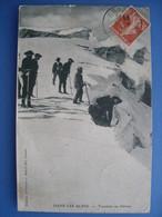 (Alpes, Glacier) Touristes Au Chiron. Carte éditée Par Benoît, à Grasse, écrite En 1910, TBE. - Alpinisme