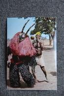Masque Et Danseur BOBO - Burkina Faso