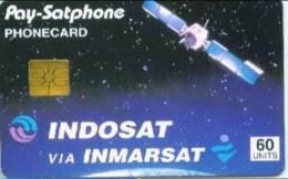 INDONESIA : IND01 60 Units INDOSAT Via INMARSAT USED - Indonésie