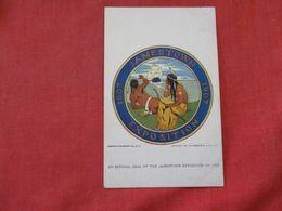 Jamestown 1907 Exposition -ref 2863 - Indiani Dell'America Del Nord
