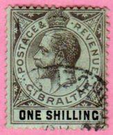 GIBRALTAR - Colonie Britannique - 1912 Y&T N° 68 - Oblitéré - Gibraltar
