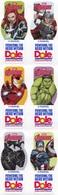 Avengers Infinite War IRON MAN HULK BLACK WIDOW THOR BLACK PANTHER CAPTAIN AMERICA Dole Banana Labels - Ecuador - Fruits & Vegetables