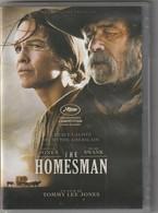DVD THE HOMESMAN  Avec Tommy Lee Jones   Etat: TTB Port 110 Gr Ou 30gr - Western/ Cowboy