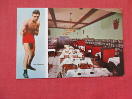 Boxing -- Lew Tendler At His Restaurant Philadelphia Pa.---ref 2864 - Boxing