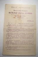 TOULON    -    VILLA  SAINT - ROCH  - Maison De Santé Chirurgicale Du Docteur  CHARLES  JOURDAN  Avenue Saint - Roch - Altri