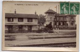 Ain - CEYZERIAT - La Gare Et Le Buffet - Ed. Fumey - Autres Communes