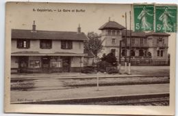 Ain - CEYZERIAT - La Gare Et Le Buffet - Ed. Fumey - Sonstige Gemeinden