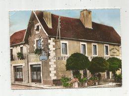 Cp , Hôtel De La TOUR D'ARGENT , 03 , Villeneuve Sur Allier , Voyagée 1960, Ed. Combier - Hotels & Restaurants