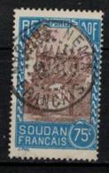 SOUDAN      N° YVERT  :  75  ( 16 )         OBLITERE       ( S D ) - Used Stamps