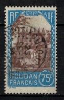 SOUDAN      N° YVERT  :  75  ( 21 )         OBLITERE       ( S D ) - Oblitérés