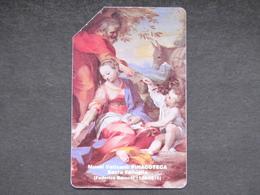 SCV 7 - 6007 C&C - SACRA FAMIGLIA - USATA MAGNETIZZATA ORIGINALE - Vatican