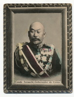 Korea Conde Terauchi Gobernador De Corea Born In Yamaguchi Japan Governor - Korea (Zuid)