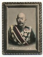 Korea Conde Terauchi Gobernador De Corea Born In Yamaguchi Japan Governor - Corée Du Sud