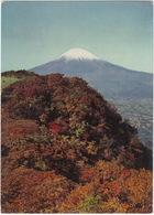 Snow-capped Fuji, Japan's Highest Peak, Rises 12,397 Feet In The Autumn Air - (Japan/Nippon) - Andere