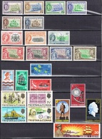 DO 7145 LOT  XX + X  ENGELSE COLONIE'S  ZIE SCAN - Stamps