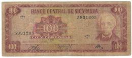 Nicaragua, 100 Cordobas 1972, F. - Nicaragua