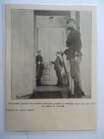 1917 -  Petrograd Санкт-Петербу́рг - Sentinnelle Révolution Russe    - Coupure De Presse Originale (Encart Photo) - Documents Historiques
