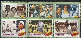 Gambia - BASEBALL / MOVIE STARS / CINEMA 1993 MNH - Gambia (1965-...)
