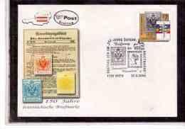 TEM7366   -     WIEN  30.5.2000     /      FDC   150 JAHRE OESTERREICHISCHE BRIEFMARKE - Briefmarkenausstellungen