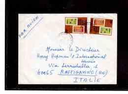 TEM8848     /   SENEGAL  POSTAL HISTORY   /       AIR MAIL    LETTER TO  ITALY     DTD    24.10.1985 - Senegal (1960-...)