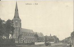 Zaffelaere   -    Kerk   - 1910  Naar   Bruges - Lochristi