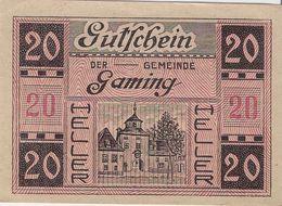 Österreich Austria Notgeld 20 HELLER FS220 GAMING /187M/ - Austria
