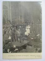 1917 -  Petrograd Санкт-Петербу́рг -  Nicolas II Avant La Révolution Russe - Coupure De Presse Originale (Encart Photo) - Documents Historiques