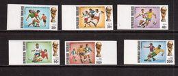 Togo-1974,(Mi.1017B-1022B) Imper., Football, Soccer, Fussball,calcio,MNH - Coppa Del Mondo