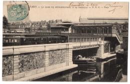 CPA 75 - PARIS - Gare Du Métropolitain à La Bastille - PPC - Dos Simple - Metro, Stations