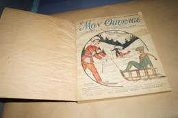 RARE,complet,Reliure Mon Ouvrage,du 15/12/1932 Au 15/12/ 1933,Couture,broderie,dentelles,mode - Livres, BD, Revues