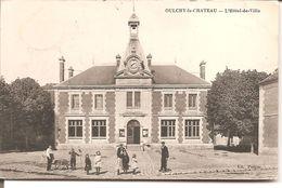 OULCHY - Le - CHATEAU   L'Hotel De Ville - Otros Municipios