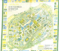 Mouchoir Souvenir Exposition Osaka Japon 1970 - Obj. 'Souvenir De'