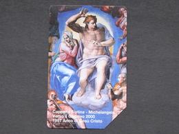 SCV 34 - 6034 C&C - CAPPELLA SISTINA MICHELANGELO - USATA MAGNETIZZATA ORIGINALE - Vatican