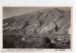 )Argentina : Prov Jujuy : Quebrada De Mumahuaca : Maimara (PPP7679) - Argentina