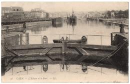 CPA 14 - CAEN (Calvados) - 56. L'Ecluse Et Le Port - LL - Caen