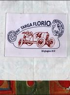 96 TARGA FLORIO CARTOLINA UFFICIALE ED.LIMITATA BOLLO E AFFRANCATURA - Manifestazioni