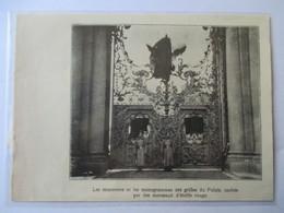 1917 - Palais De  Tsarskoïe Selo  Царское Село  - Revolution Russe -    - Coupure De Presse Originale (Encart Photo) - Documents Historiques