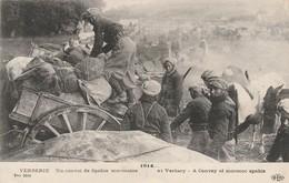 Militaria : VERBERIE : Un Convoi De Spahis Marocains - Guerre 1914-18