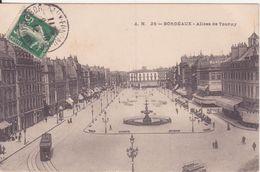 CPA - 25. BORDEAUX - Allée De Tourny - Bordeaux