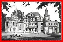 CPSM/pf (14) HEROUVILLE SAINT CLAIR.  Château De Beauregard, Colonie De La R.T.F...B783 - Herouville Saint Clair