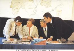 (36)   La Carte Qui Bouge - LE FUILET - Autres Communes